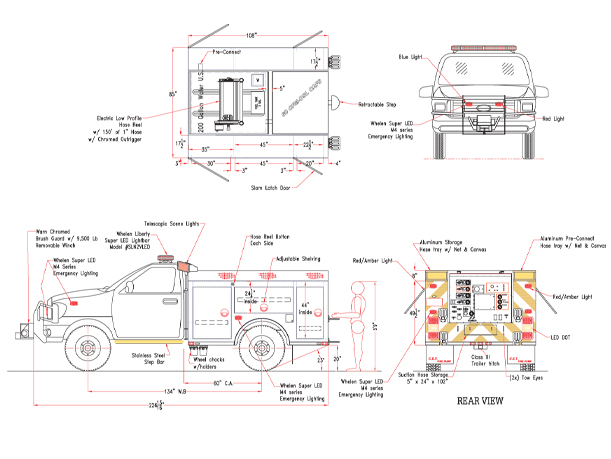 brushtruck20 draw jpg rh fire pump com Cummins 24 Valve Engine Diagram Cummins 24 Valve Engine Diagram