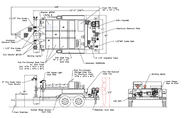 foam_trailer_shema4  Wire Into Trailer Wiring Diagram on