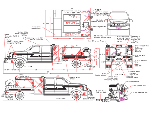 Brush Truck 15 | CET Firepump