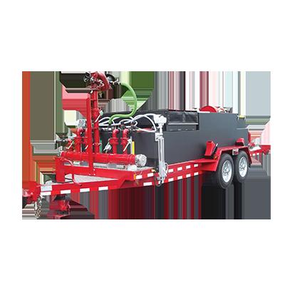 1000 gallons Foam Trailer | CET Firepump